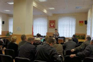 «Социально – правовая приемная потребителей услуг ЖКХ» в администрации Кромского района